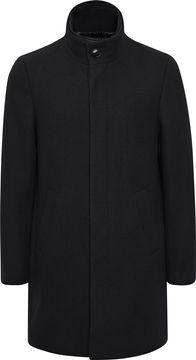 Pánský kabát s příměsí vlny Harvey