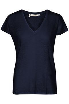 Lněné tričko Faylinn