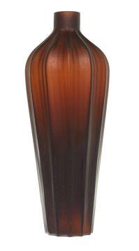 Skleněná ručně vyráběná váza, 44 cm