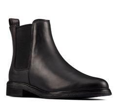 Dámské kožené chelsea boty Clarkdale Arlo