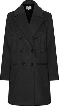 Dámský kabát s příměsí vlny Aleia