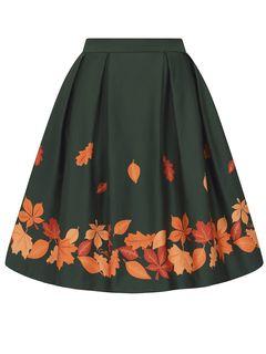 Nabíraná sukně Marilu Leaves