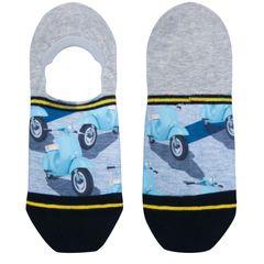 Neviditelné ponožky Scooter