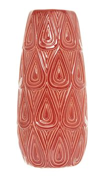 Keramická ručně vyráběná váza, 40 cm