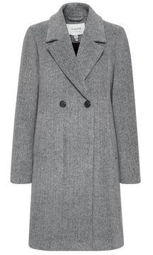 Kabát s příměsí vlny Amano