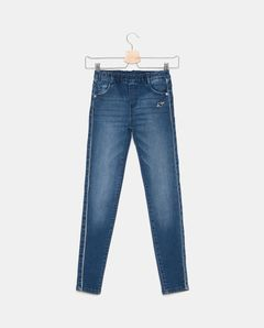 Dívčí džíny s elastickým pasem