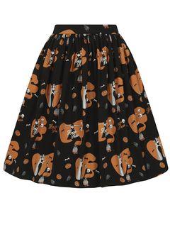Kolová sukně Jasmine Hocus Pocus