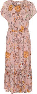 Dlouhé letní šaty s květinovým potiskem Remington