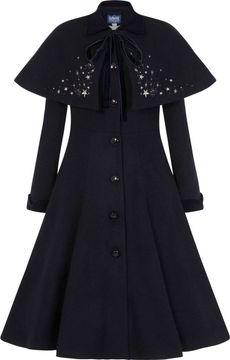 Kabát s příměsí vlny Claudia Stars