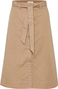 Áčková midi sukně s knoflíky Belina