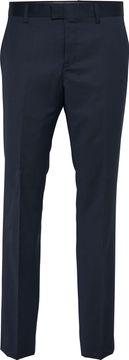 Vlněné oblekové kalhoty Las