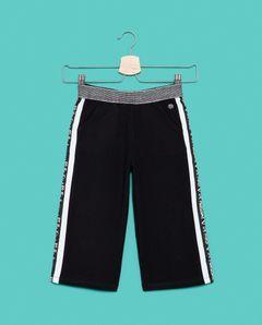 Široké teplákové kalhoty s kapsami