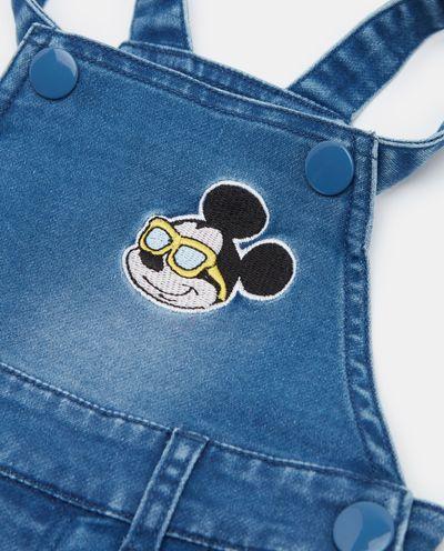 Krátké laclové kalhoty Mickey Mouse
