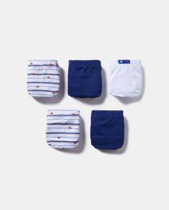 Chlapecké slipy, 5-pack