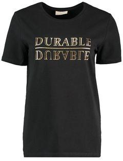 Tričko s metalickým nápisem Fenja Durable