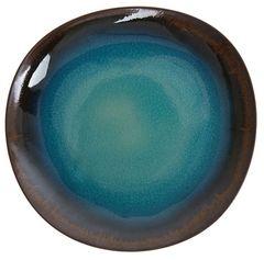 Kameninový talíř Karma, 22 cm