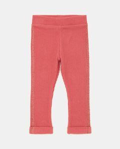 Dívčí žebrované kalhoty
