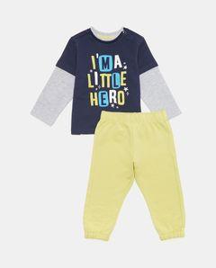 Dětská souprava s potiskem Little Hero