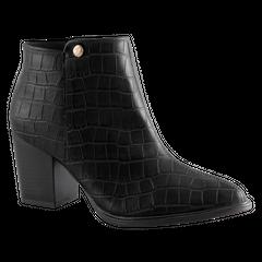 Kotníkové boty na širokém podpatku