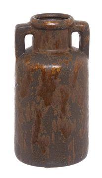 Keramická ručně vyráběná váza, 21 cm