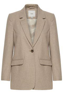 Prodloužený blazer s příměsí vlny Camia