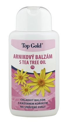 Top Gold Arnikový Balzám tea tree oil-chladivý