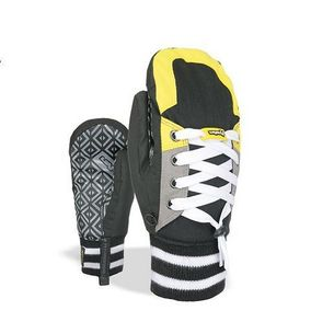 Level Sneaker black/yellow