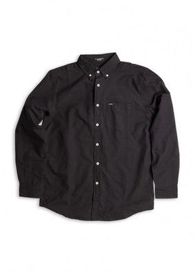 MATIX košile TOM OXFORD L/S black