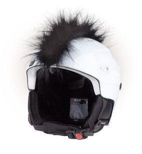Crazy Uši na helmu číro černé černá