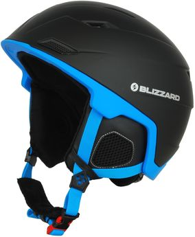 Blizzard Double black matt/blue