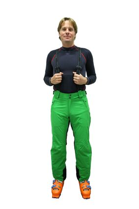 Blizzard Power Ski Pants aplle green/anthracite