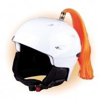 Crazy Uši na helmu cop oranžový