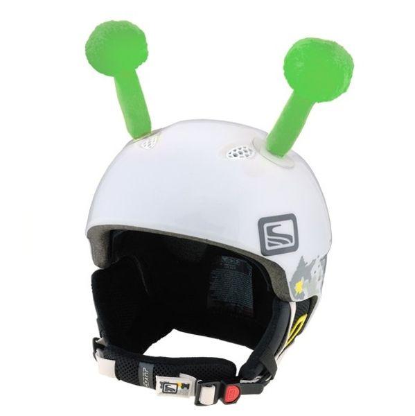Crazy Uši na helmu tykadla zelená