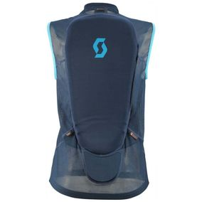 Scott Light Vest Protector  Actifit eclipse blue/bermuda blue dámské