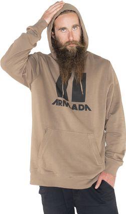ARMADA mikina ICON HOODIE granite