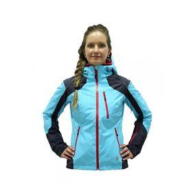 Blizzard Viva Allround Ski Jacket anthracite/light blue/orange