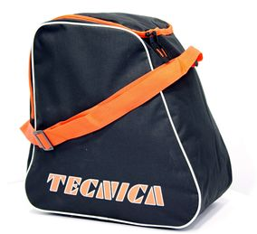 Tecnica Skiboot Bag black/orange