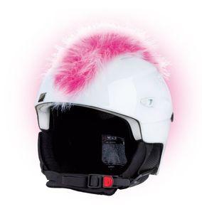 Crazy Uši na helmu číro růžovo-bílé růžovo-bílá