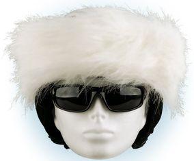 Crazy Uši Čelenky na helmu bílá
