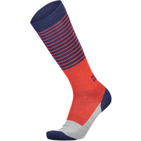 Mons Royale Lift Access Sock navy/grey/bright red