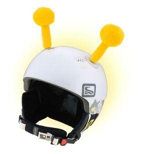 Crazy Uši na helmu tykadla žlutá žlutá