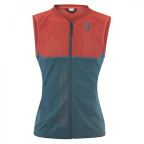 Scott Light Vest Actifit Plus dragonfly green/hibiscus red dámské...