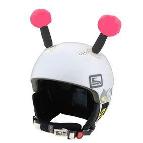 Crazy Uši na helmu tykadla růžovo-černá