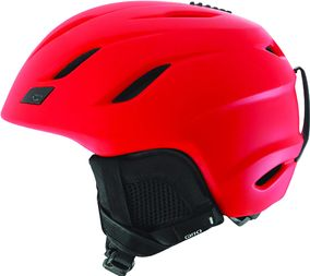 Giro Nine matte glowing red