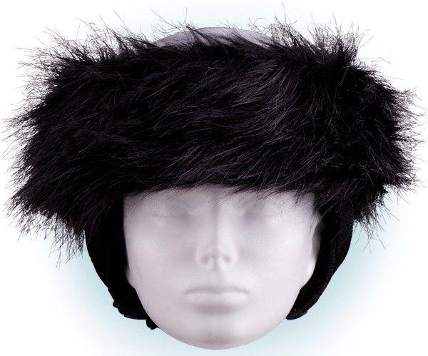 Crazy Uši Čelenky na helmu černá