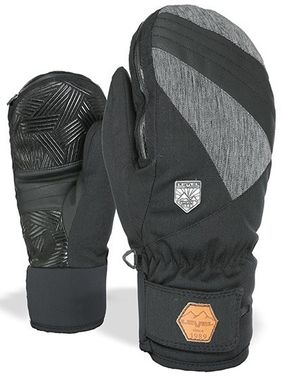 Level Stealth Mitten black/grey