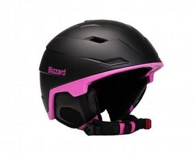 Blizzard Viva Double black matt/magenta