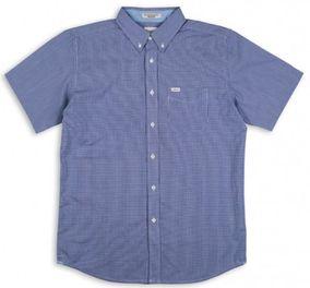 MATIX košile HYDE WOVEN TOP blue