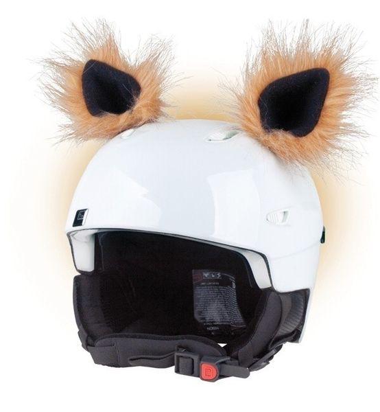 Crazy Uši na helmu trol světle hnědá...