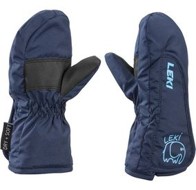 Leki Smiley Kids Mitten navy/cyan/black